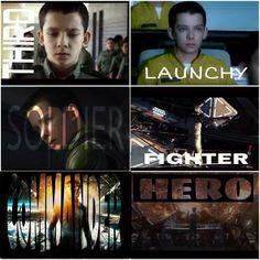 Third, Launchy, soldier, fighter, commander, hero.