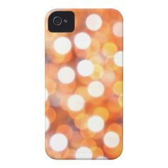 Bokeh pearls reflections pattern iPhone 4 cover