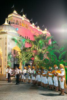 Baraatis awaited!!!  Venue: Udaipur  #bandallset #waitingforOurbaraatis #lovethecolours #fortwedding #bestbaraatever #indianwedding #bollywoodfeel http://bonvera.in