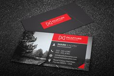 Check out Photography Business Card by Arslan on Creative Market
