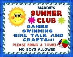 Make a Summer Club Poster | Club Event Poster Ideas