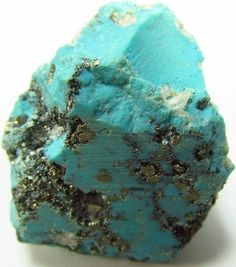45 ct UNTREATED AZ Sleeping Beauty Turquoise Nugget Rough Mineral Specimen