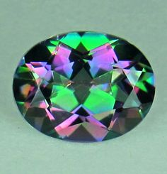 Topaz Color | 80 ct Stunning Rainbow Color Natural Mystic Topaz