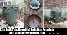 I love simple fountains. No elaborate waterfall or geyser shooting water all over. Simply water bubbling and trickling over an edge, creating a relaxing atmosphere. I also like projects the average homeowner can do it, save money and achieve amazing results. That's what this backyard fountain from Hip House Girl provides – DIY and results. …