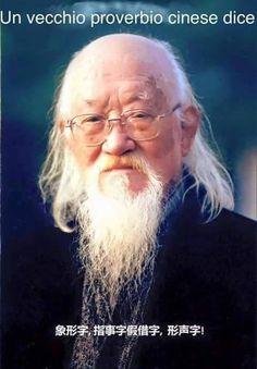 Un vecchio proverbio cinese dice ...