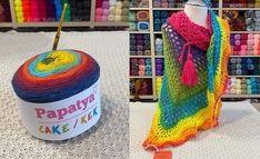 Háčkovaná šatka so strapcami v karnevalových farbách. Before and After, crochet crazy shawl, rainbow yarn Crochet Necklace, Jewelry, Fashion, Moda, Jewlery, Jewerly, Fashion Styles, Schmuck, Jewels