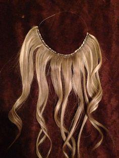 Halo flip in hair extensions DIY