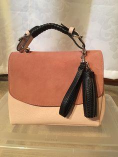 Zara Pink And Black Small Handbag Trending Color This Season