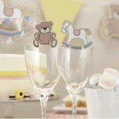 Schaukelpferd & Teddy Glasdeko x 10 - für Baby shower/Geschenkparty oder Kindergeburtstag - Rock a Bye Baby von ginger ray, http://www.amazon.de/dp/B008RV6OOU/ref=cm_sw_r_pi_dp_u7t1sb1A1RB28