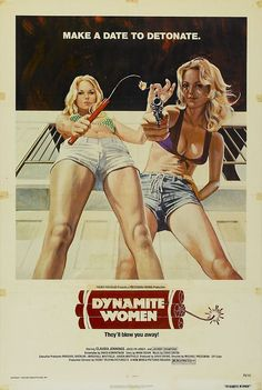 Dynamite Girls Vintage Drive-In Movie Poster by FoxgloveMedia 1976 Movies, Old Movies, Vintage Movies, Vintage Posters, Vintage Artwork, Vintage Ads, Best Movie Posters, Cinema Posters, Cool Posters