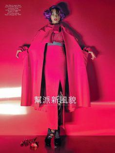 ASIAN MODELS BLOG: EDITORIAL: Xiao Wen, Sung Hee, Ji Young Kwak, Feng Qi Wen, Satoshi Toda & Taiki Takahasi in CR Fashion Book, Fall/Winter ...
