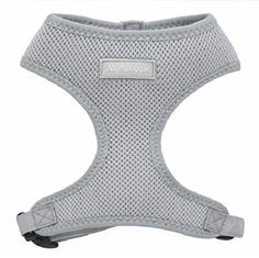 Hip Doggie Ultra Comfort Grey Mesh Harness Vest, X-Large => Insider's special review you can't miss. Read more  : Harnesses for dogs