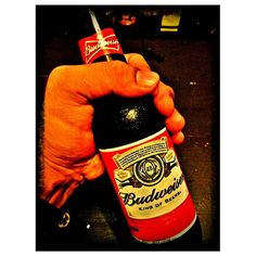 Last #shot for #may #2013 #drink#king of #beer #budweiser #friday#night #philippines #5月 最後の写真#ビール#バドワイザー#フィリピン