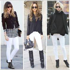 Leia aqui!: http://imaginariodamulher.com.br/look/?go=2lVT627  10 Looks com calça branca com bota marrom e onde Encontrar #achadinhos #modafeminina #modafashion #tendencia #modaonline #moda #instamoda #lookfashion #blogdemoda #imaginariodamulher