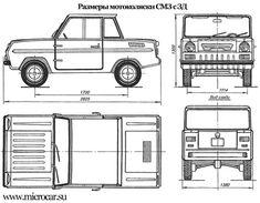 UralZIS-355 blueprint | Design | Pinterest | Vehicle, Planes and Cars