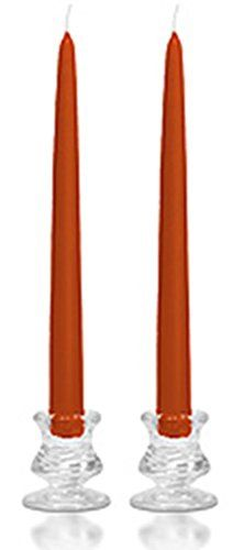 15 Inch Terracotta Taper Candles