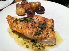 Pan-Roasted Swordfish Steaks with Mixed-Peppercorn Butter | I'll Have Seconds!