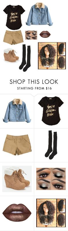 """Genderbent Fem!Vernon Boyd Teen Wolf"" by takatsukisen ❤ liked on Polyvore featuring Hollister Co., A.P.C., Samantha Holmes, JustFab and Lime Crime"