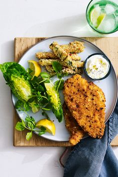 These baked not fried schnitzels cook in 20 minutes for a zippy dinner perfect for weeknights