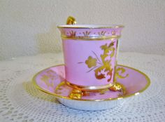 Antique Royal Vienna Portrait Footed Cup and Saucer | eBay