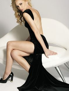 I am so happy to look perfect in this Black long backless dress