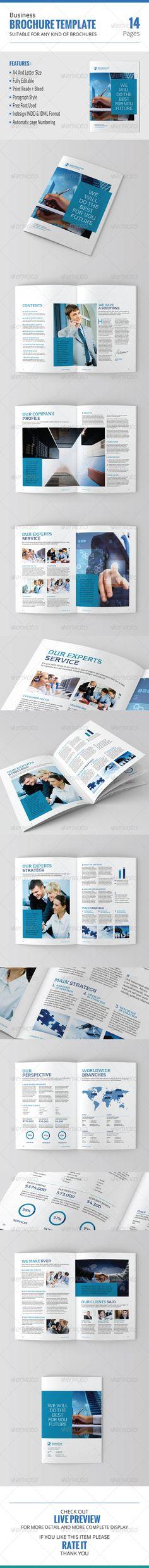 Company Profile Lifestyle, Originals and Magazines - company business profile template