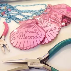 Mermaid jewellery by I Love Crafty