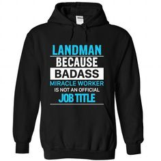 LANDMAN - #wedding gift #gift for girls. CHEAP PRICE => https://www.sunfrog.com/LifeStyle/LANDMAN-2697-Black-Hoodie.html?68278