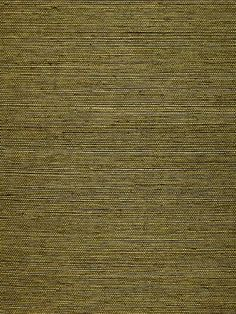 Schumacher Wallpaper - Ningbo Sisal - Olive - Price Per Roll: $87.25 #interior #decor #grasscloth