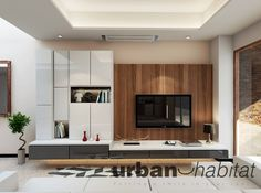 Today, we bring you a pleasing design inspiration for an HDB executive mainsionette in contemporary style. We believe in putting a smile in your space. The mansionette displayed here features an open floor plan. A large sectional sofa in white is positioned in front of a floating entertainment and media counter. Glossy black and white finish of the cabinets and counter with colorful accent pieces in red adheres to the contemporary style decor. A flat screen TV is mounted on a wall with…