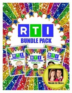 Kindergarten RTI Complete Pack (letter identification, sounds, and sight words)