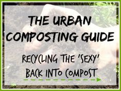 "Thank you for confirming your details! As promised, here's your free booklet: ""The Urban Composting Guide"" CLICK HERE TO DOWNLOAD Feel free to share with others if you feel they will find this helpful. I just ask you to do so respectfully with credit to The Urban Ecolife."