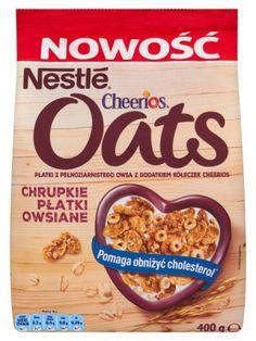 Nestle NESTLE 400g Cheerios Oats Chrupkie płatki owsiane