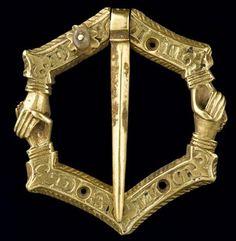 Clasp:  Treasury Of Colmar, mid 1300's.