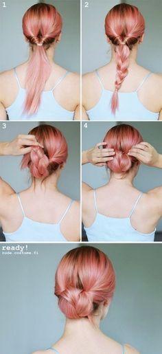 La plupart de ces tutoriels coiffures sont très très faciles à faire. Il suffit de regarder les images pour comprendre rapidement. Prenez quand même...