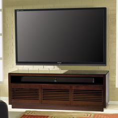 BellO 63 In. TV Stand   Chocolate   Flat Panel TVu0027s Love The Twin Stars 63  In. TV Stand U2013 Chocolate And You Will, Too.