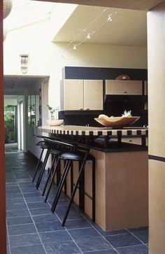 Black Kitchen - Cool Kitchen Ideas - Lonny