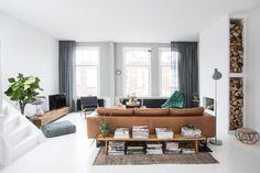 Wyjątkowy dom Odetty Simons - dominują szarości i eklektyzm - Dom