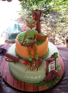 Robin Hood cake    -not sure who credit should be given to.  I didn't make it and was sent the pic
