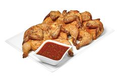 Made from scratch in-store. Chicken Sauce, Cornish Hens, Tomato Sauce, Foods, Dishes, Store, Breakfast, Recipes, Chicken Gravy