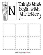 Christmas Preschool Printables: The Nutcracker