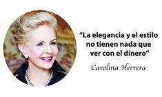 15 frases inspiradoras de la talentosa Carolina Herrera que te harán reflexionar