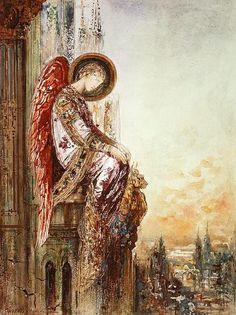 """Gustave Moreau,  """"Angel Traveller"""""""