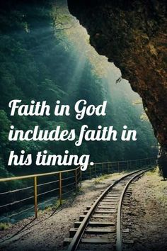 Motivational quotes for life god. Faith in God includes faith in his timing. #InspirationalQuotes #PositivityQuotes #InspirationalQuotes #PositivityQuotes Short Inspirational Quotes, New Quotes, Quotes About God, Quotes About Strength, Faith Quotes, Bible Quotes, Funny Quotes, Jesus Quotes, Religious Motivational Quotes