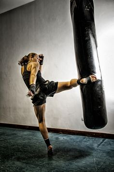 Great kicking form. Generally an overlooked technique thanks to the adaptation of Dutch kickboxing. Landing the hips with your hips torqued all the way back generates the appropriate power for a body kick. The same rule may be applied to a leg/head kick but missing or a blocked kick at these levels usually come with repercussions.