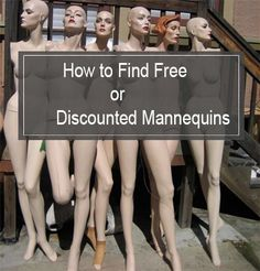 how to find free or discounted mannequins