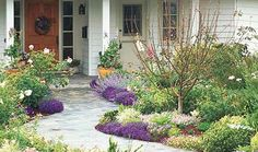 Get Spring Ready: Add Flowers To Your Front Walk :: Hometalk