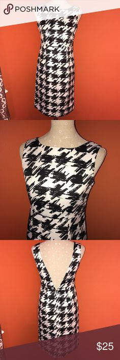LIMITED EDITION~Target~Houndstooth Low Back Sheath Super cute and would stand up in style to any designer dress. This limited edition collection was inspired by Hollywood and was an opportunity to bring designer style at affordable pricing. SOLD OUT quickly and sure to turn heads! TARGET Dresses