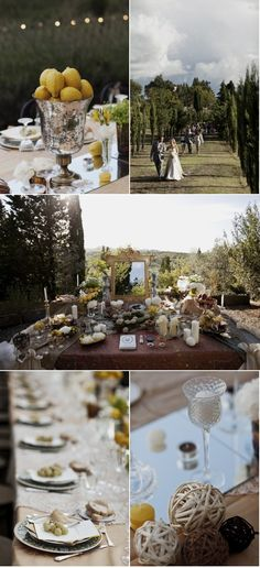 Sofreh Aghd. Italy Wedding by Apertura | Style Me Pretty
