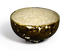 A large 'Cizhou' brown-glazed and incised bowl, Song-Jin Dynasty